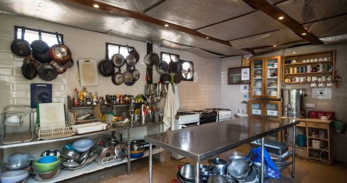 חאן שקדי - מטבח משותף ומאובזר